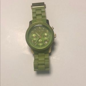 Green Michael Kors Watch MK5143